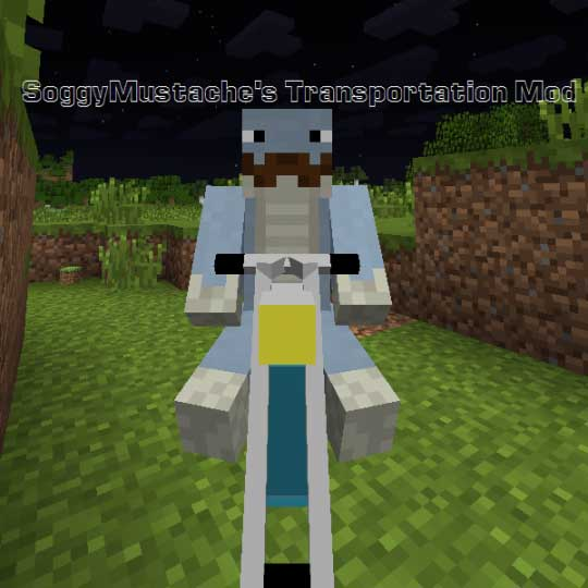 SoggyMustache's Transportation Mod for Minecraft