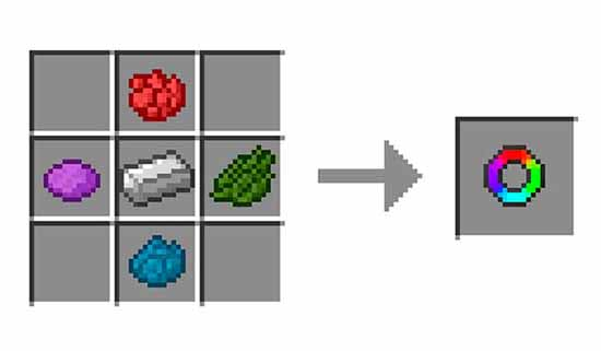 Flat Colored Blocks Mod for Minecraft