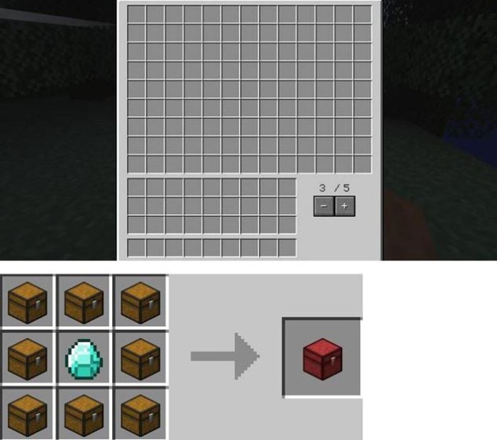 Multi Page Chest Mod for Minecraft 1.9/1.8.9/1.7.10