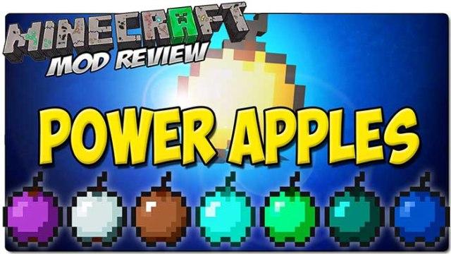 Power Apples Mod for Minecraft 1.9/1.8/1.7.10   MinecraftSide