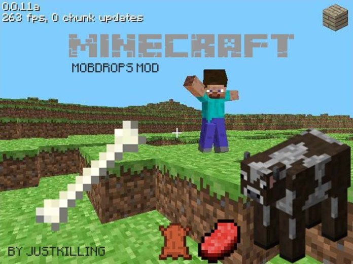 MobDrops Mod for Minecraft