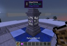 Waystones Mod for Minecraft