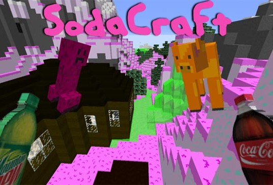 SodaCraft Resource Pack for Minecraft