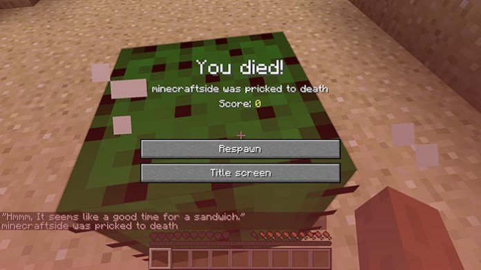 Death Quotes Mod for Minecraft