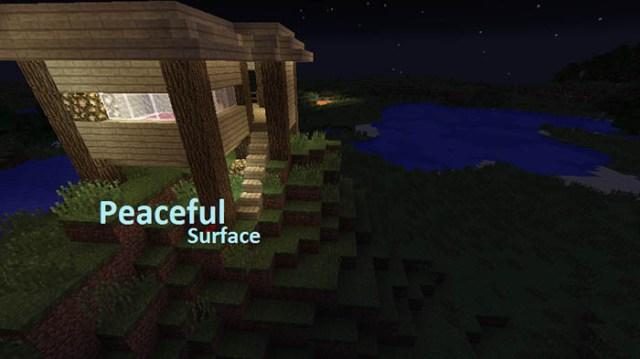 PeacefulSurface Mod for Minecraft