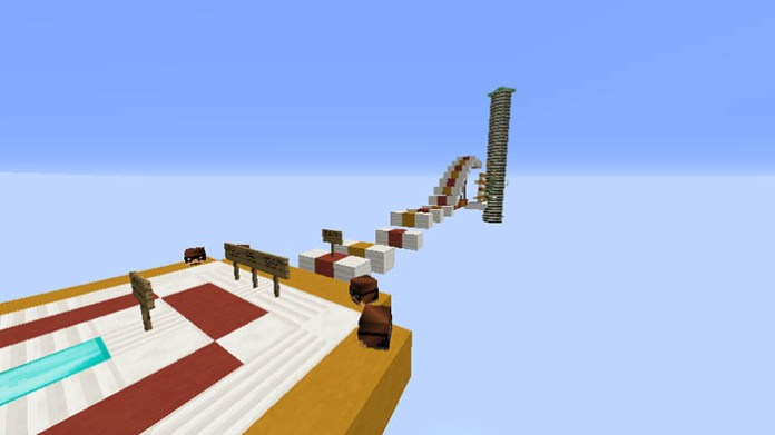 Sky Runner Map for Minecraft