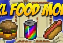 XL Food Mod for Minecraft