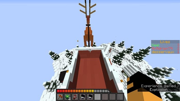 Christmas Brawl Map for Minecraft