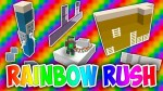 Rainbow Rush Map for Minecraft 1.12.2