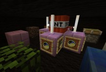 Don't Press The Button Map for Minecraft