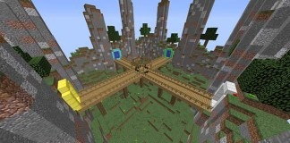 The 4 Walls Map for Minecraft