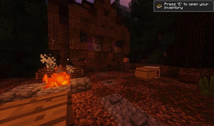 The Witch Map for Minecraft