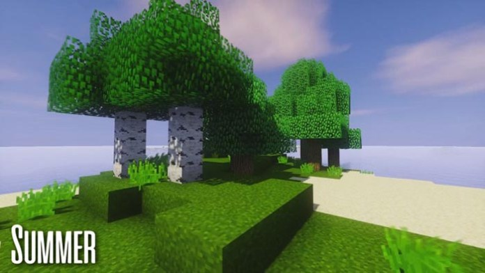 Seasons in Minecraft Resource Pack for Minecraft