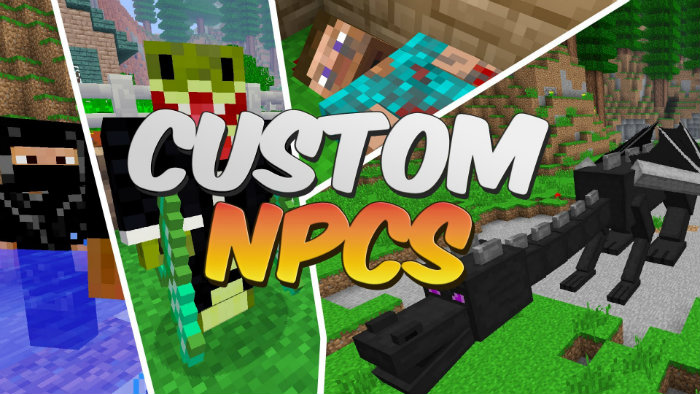 Custom NPCs Mod For Minecraft MinecraftSix - Minecraft flans mod server 1 8 erstellen