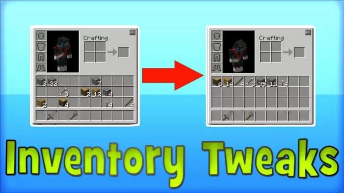 Inventory Tweaks Mod for Minecraft 1 12 2/1 11 2 | MinecraftSix