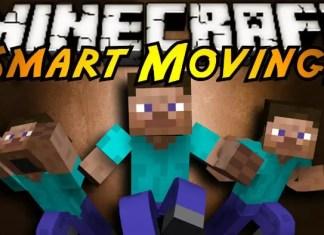 Smart Moving mod minecraft