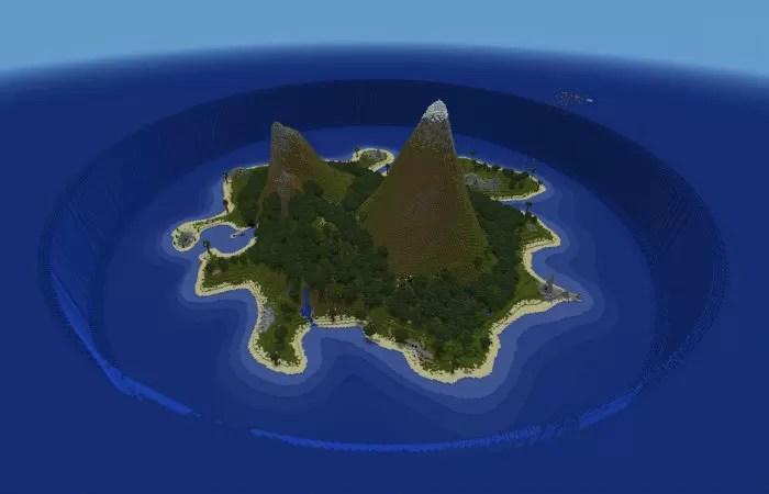 sunken island minecraft 1.2.5