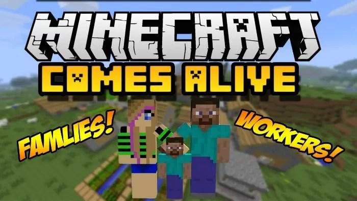 Minecraft Comes Alive Mod For Minecraft MinecraftSix - Minecraft lan spielen mit mods