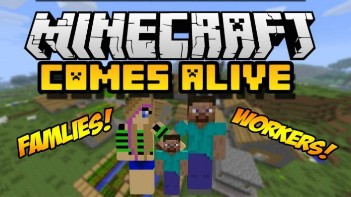 Minecraft Comes Alive Mod For Minecraft MinecraftSix - Minecraft lan spielen windows 10