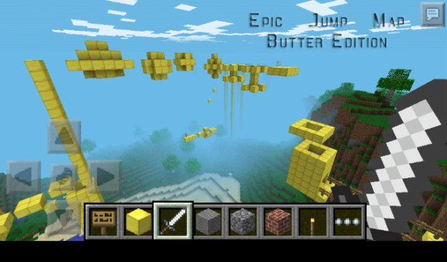 Epic Jump Map – Sky Butter Edition for Minecraft 1.8.1 ...