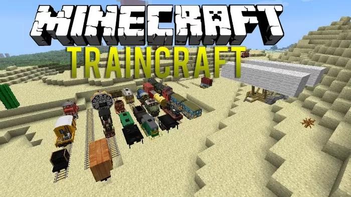 minecraft traincraft 1.8.1