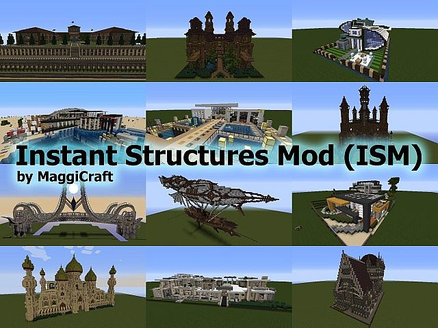 minecraft instant structures mod download