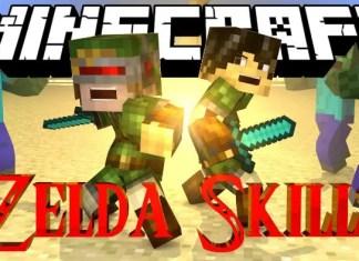 zelda sword skills mod