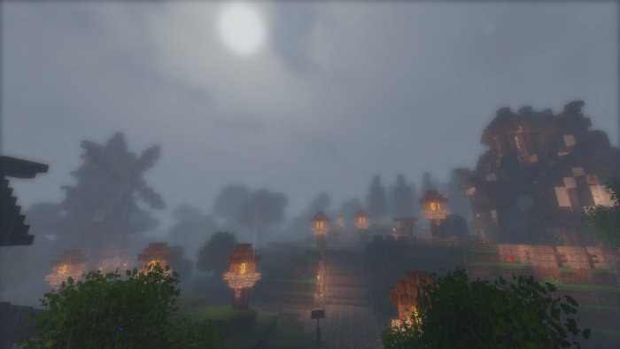 Screen Shot Wallpaper Gravity Falls Stazza S Super Shaders Mod For Minecraft 1 11 2 1 10 2