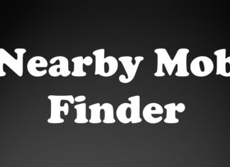 nearby mob finder