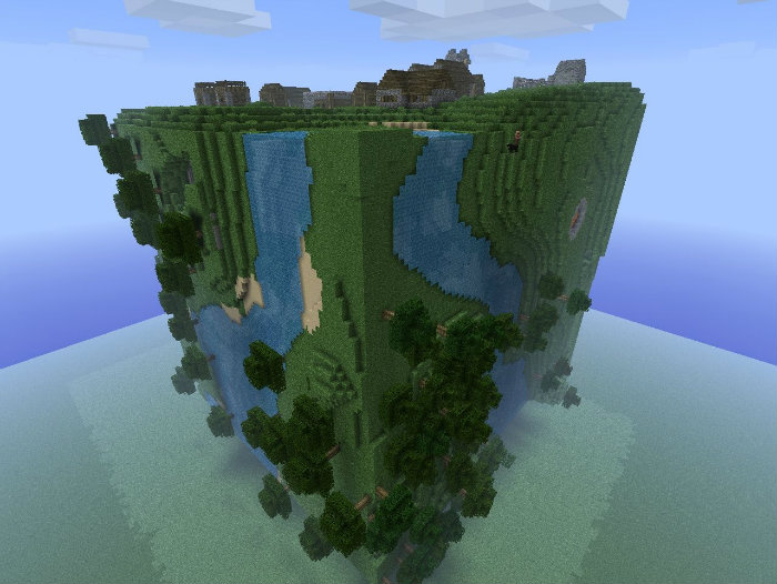 Cube World Map.Cube World 2 Map For Minecraft 1 8 7 Minecraftsix