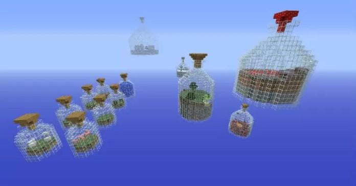 World In A Jar Map For Minecraft 1 8 7 Minecraftsix