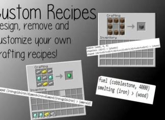 custom recipes