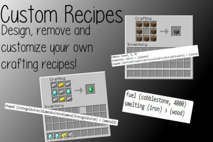 custom-recipes-mod