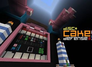 disco cake defense  map