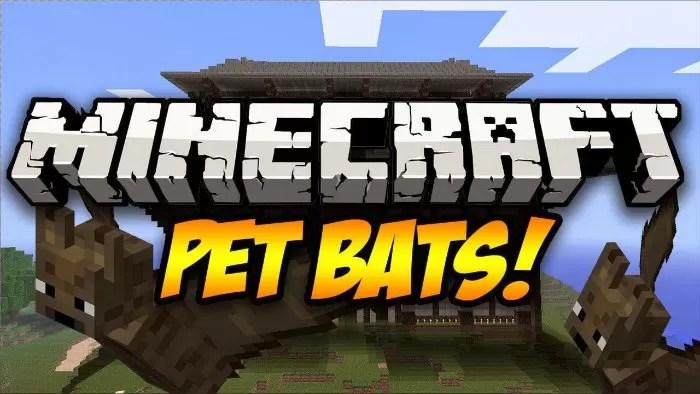 Pet Bat Mod For Minecraft 11221112 Minecraftsix