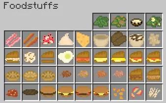 Bird's Foods Mod for Minecraft 1 12 2/1 11 2 | MinecraftSix