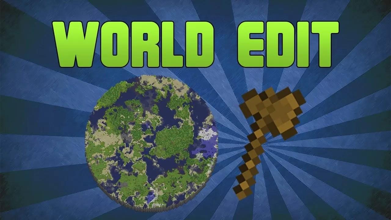 WorldEdit Bukkit Plugin for Minecraft 1 8 7/1 7 10/1 6 4   MinecraftSix