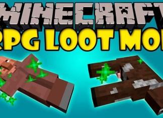 rpg loot mod minecraft