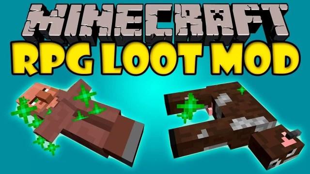 rpg-loot-mod-minecraft