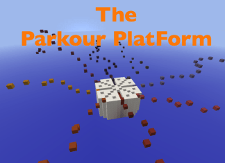 the parkour platform map