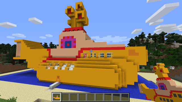 yellow-submarine-minecraft