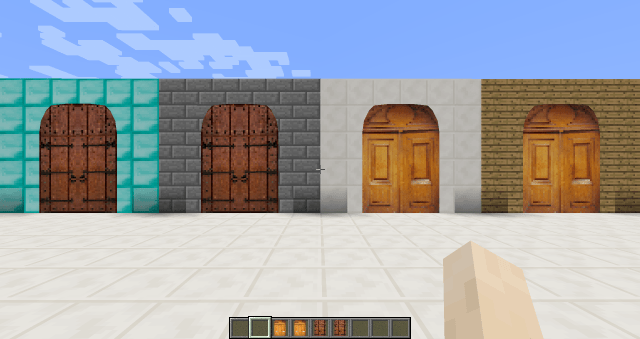 Malisis Doors Mod For Minecraft 1 10 2 1 9 4 1 7 10