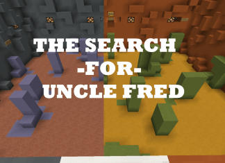 the search for uncle fred map