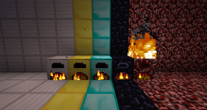 More Furnaces Mod for Minecraft 1.11/1.10.2/1.9.4