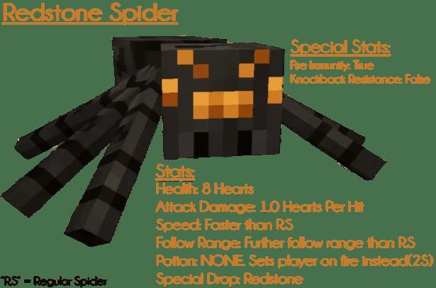 redstone spider