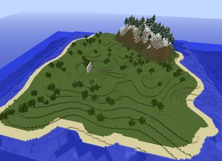 cursed island survival map