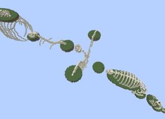extreme bones parkour map