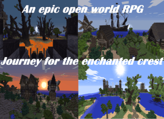 the journey for the enchanted crest