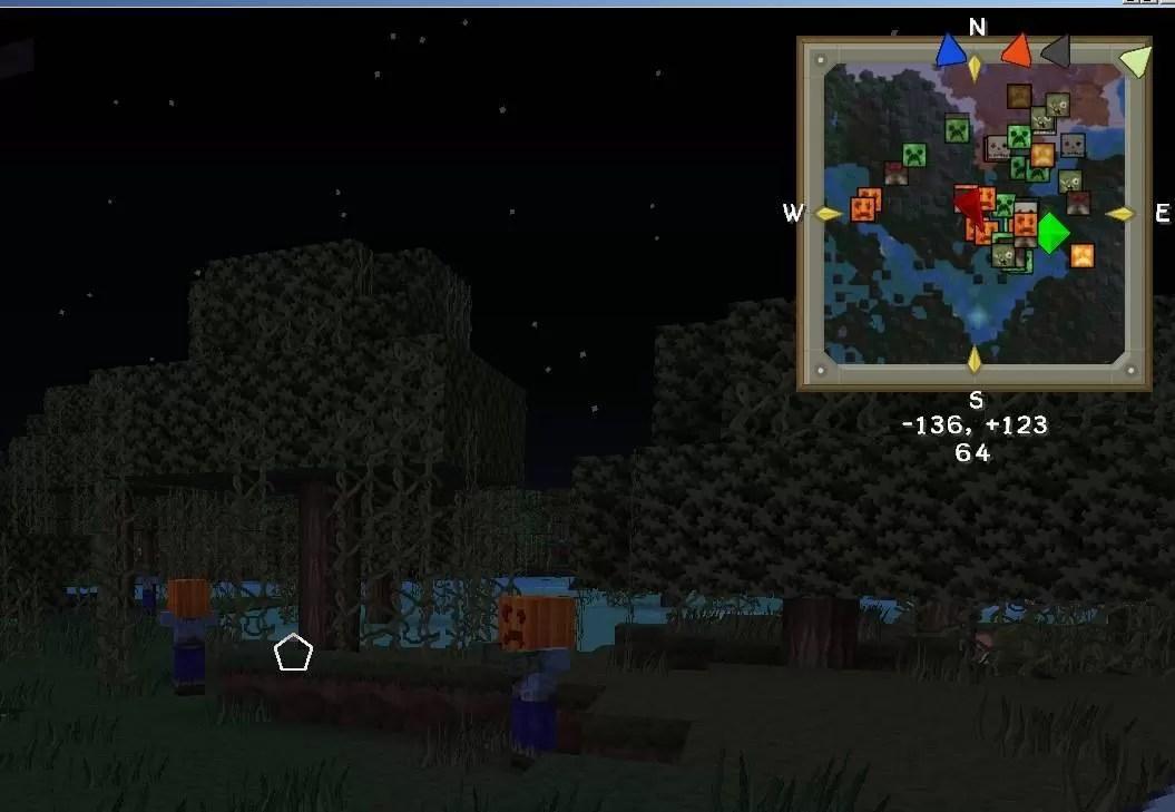 VoxelMap Mod For Minecraft MinecraftSix - Mini map para minecraft 1 10 2
