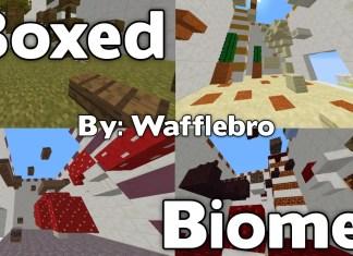 boxed biomes map